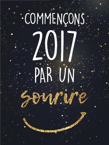 Commençons 2017 par un sourire